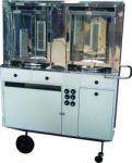 Cod. CCG26AP - R$2.240,00 à vista. (2 fornos, 6 queimadores, 2 espetos, 3 gavetas)   1,20m x 0,56m x 1,76m *Porta de vidro OPCIONAL (Adicional de R$120,00)