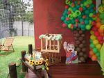 cantinho de presentes festa infantil cocoricó Itu Salto e região