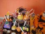 mesa de guloseimas halloween