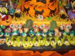 mesa e doces halloween