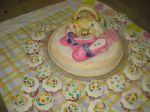 bolo decorado louis vuitton.