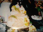 bolo de casamento.