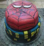 bolo do homem aranha.