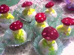 docinhos modelados cogumelos.