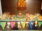 mesa de guloseimas festa junina