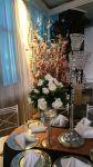 arvore francesa com maças do amor p/ decoração de casamento