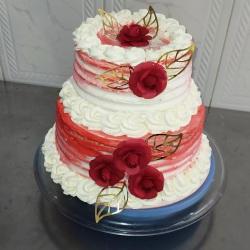 bolo de casamento espatulado