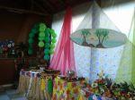 Decoração e Mesa de Frutas