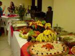Composição da Mesa de Frutas e do Jantar