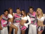 Bailarinos do axé quebrança. Eles também podem estar na sua festa