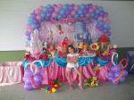 Esta é a charmosa Maria Eduarda no seu aniversário de 5 anos