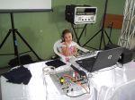 A aniversariante DJ