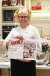 Chef Cátia Pontin no lançamento da Revista Coluna Vip