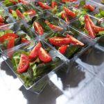 Saladinha em potinhos