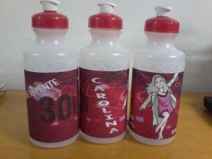 squeezer plastica 500ml com adesivo em vinil