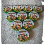Latinha Adesivada ( TODOS OS TEMAS ) R$ 2,00 cada