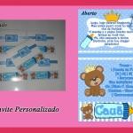 Convite personalizado R$ 3,00