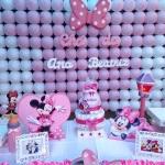 Chá Minie rosa