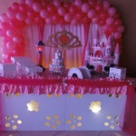 Princesa  Para aniversário e chá de bebê