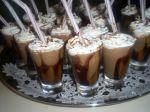 Mini capuccinos gelados