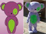 Mascote Tekinho - Teens e Kids - Polyelle - Brasília  DF