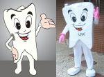 Mascote Dentinho - INOUT Comunicação - Lavras - MG