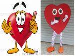 Mascote do Coração - Feira do Guará - Brasília - DF
