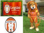 Mascote Russo - Legião Futebol Clube - Brasília - DF