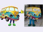 Mascote BB Seguro Auto - Rio de Janeiro - RJ