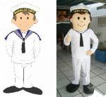 Mascote Marujinho -7 Comando Naval - Marinha do Brasil - Brasília - DF