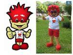 Mascote Nossa Rádio - Patos de Minas - MG