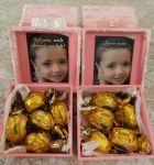 Caixa mdf decorada - Lembrança para professoras.   10X10X5cm