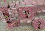 Kit personalizado Minnie Rosa