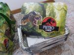 Marmitinha Dinossauros. Vazia. pequena 250g. 1,30 a unid.