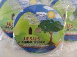Cd com adesivo personalizado Gospel - CD VIRGEM. 3,50 A UNID