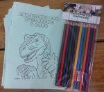 Kit para colorir personalizado