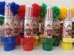 Tubete Circo Vintage.  1,50 a unid.