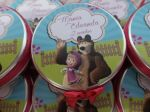Latinha Masha e o Urso