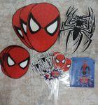 Adesivos e tags Homem Aranha