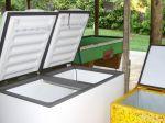 equipado com freezer  e geladeira biplex